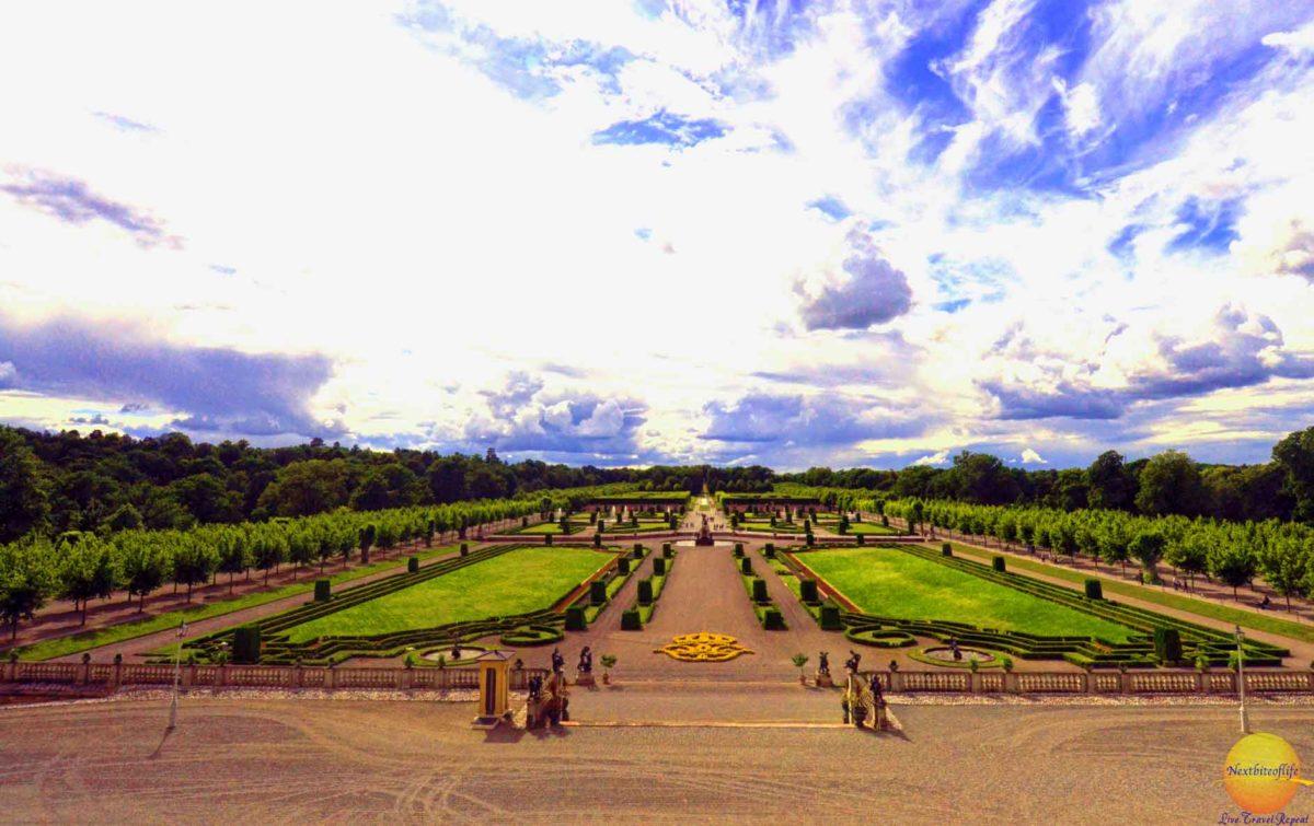 drottingholm palace garden