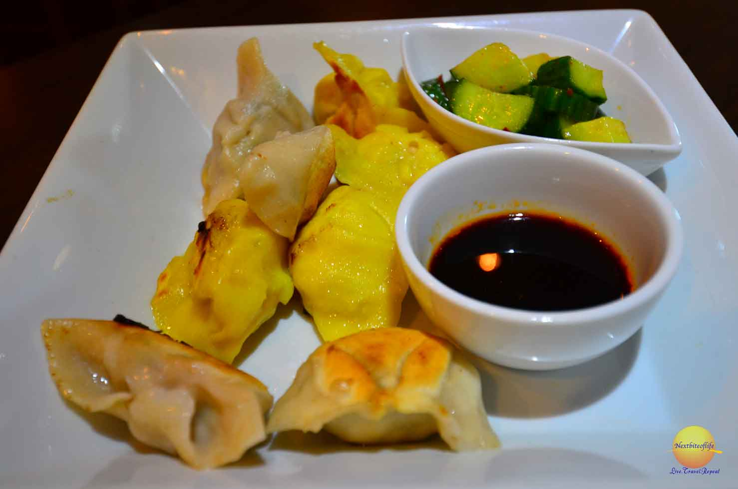 Love dumplings and we had our fill.