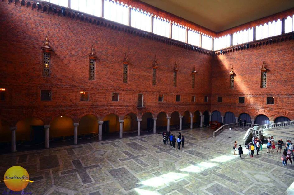 grand hall stockholm sweden city hall