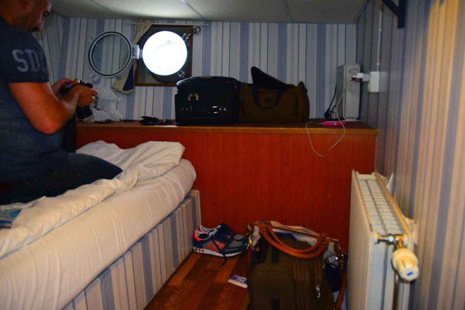 hotel boat lodging in stockholm