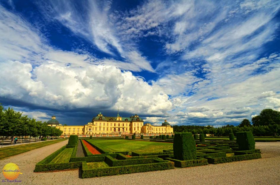 swedish palace gardens drottingholm