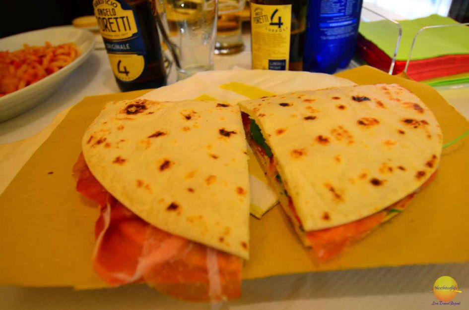 panini what to eat in Bologna city guide