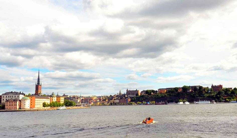 Travel guide to the best of Stockholm - water views of Gamla Stan from across the river