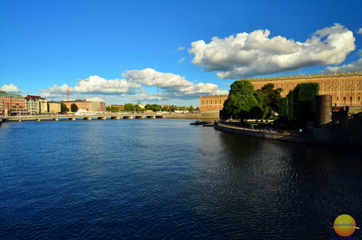 stockholm city water view
