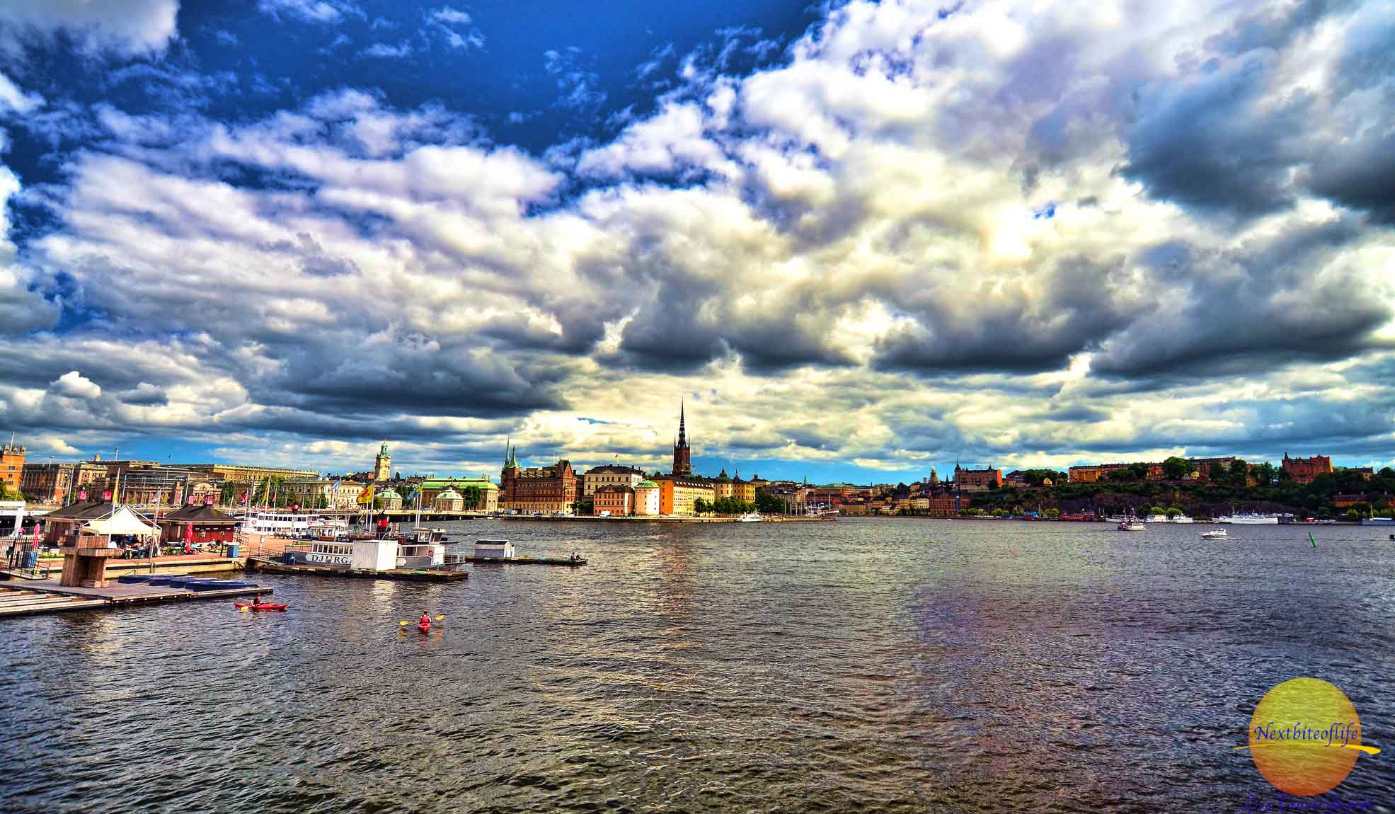 Another incredible view of Stockholm.