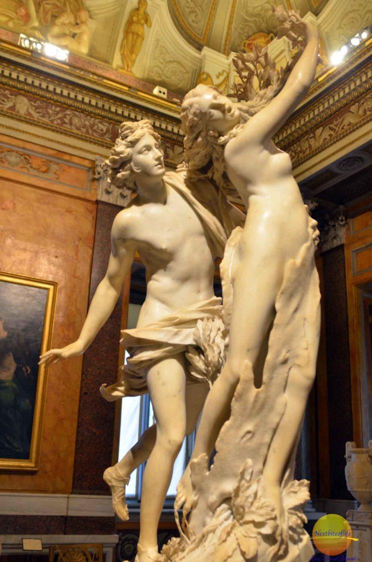borghese gallery apollo and daphne