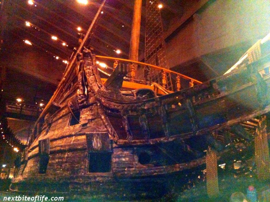 vasa ship at vasa museum stockholm
