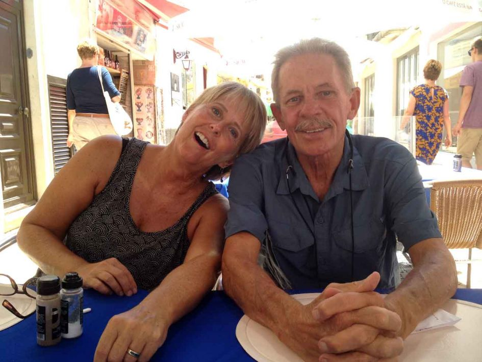 Anita and Richard.. aren't they cute?