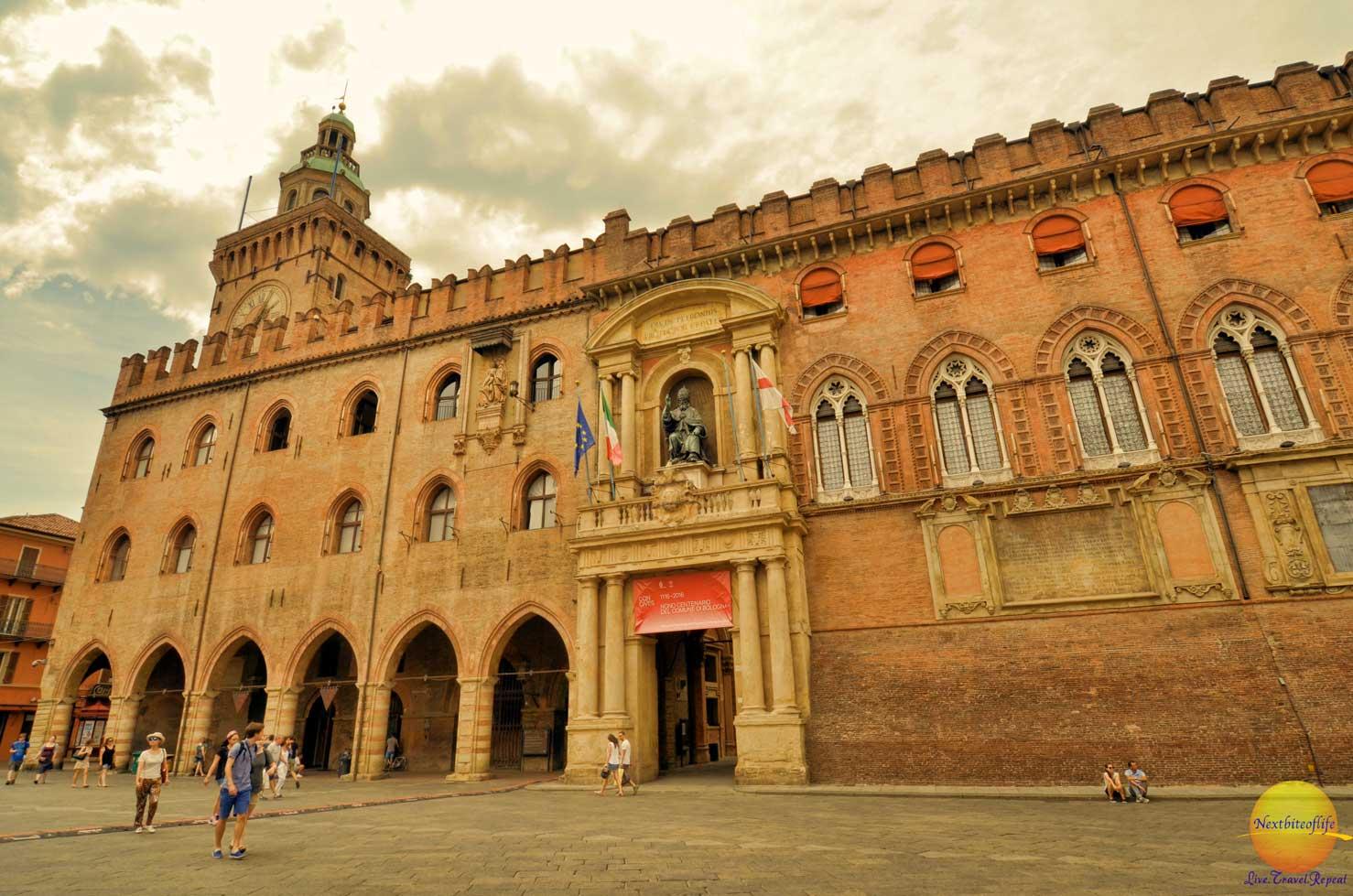 bologna italy city hall