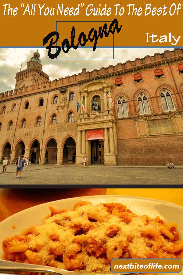 Bologna Italy Guide #bologna #italy #visitbologna #bolognaguide #bolognaitinerary #bolognathingstodo