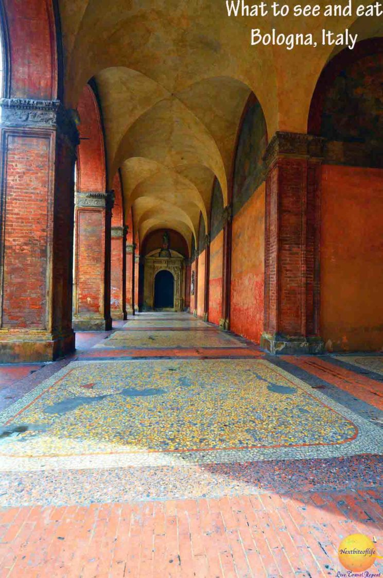 portico bologna italy see eat pinterest