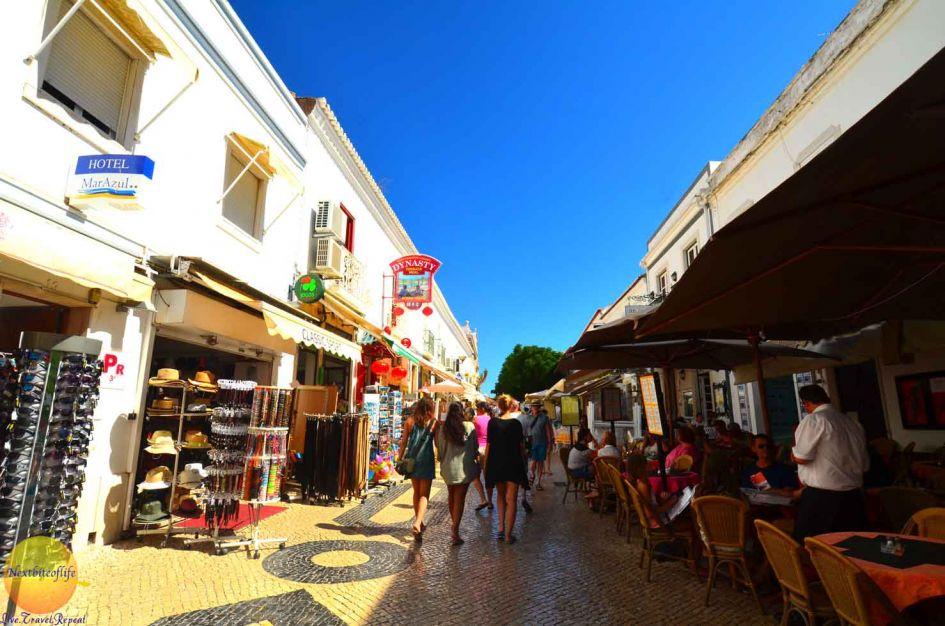 lagos portugal awesome old center