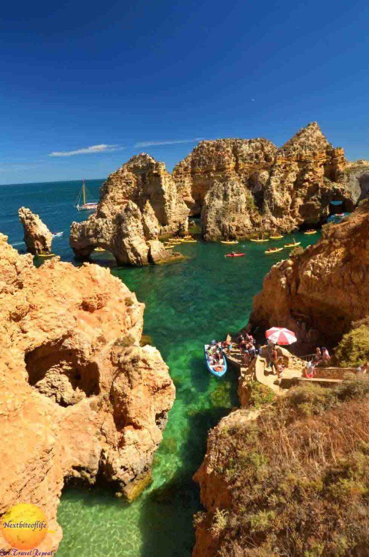 ponta de piedade is the most beautiful spot