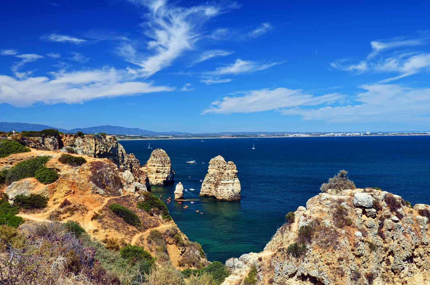 Ponta de Piedade is the most beautiful spot in the Algarve!