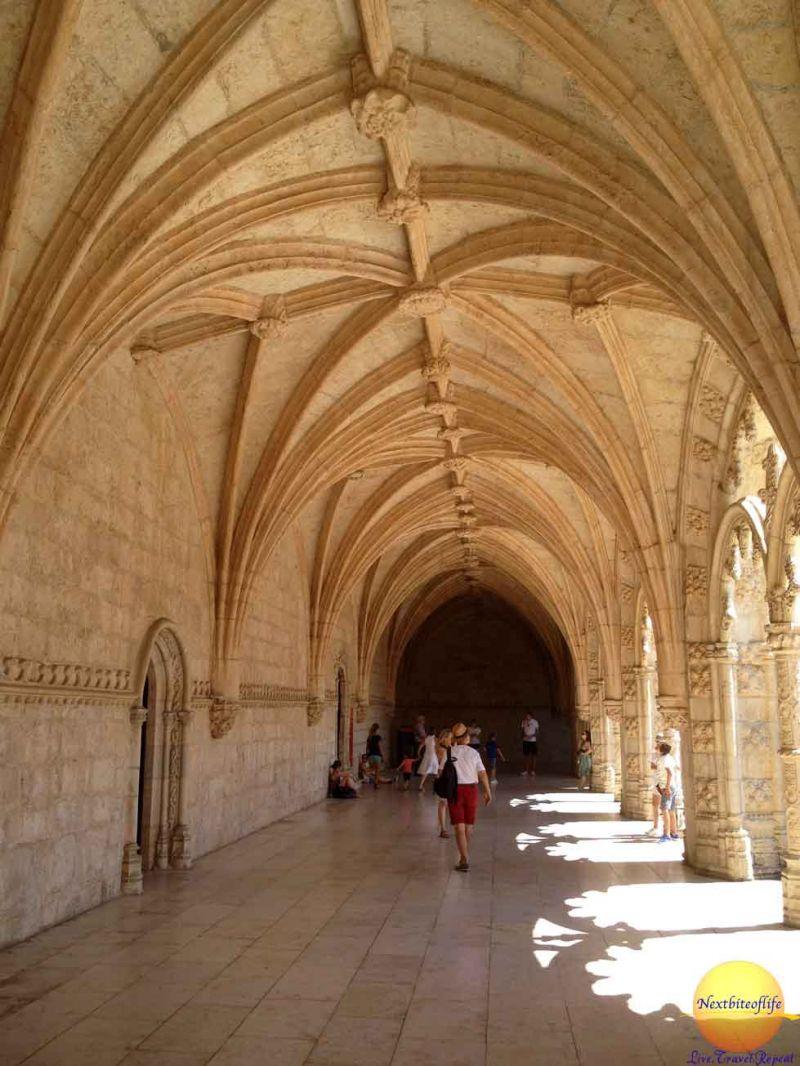 cloisters jeronimos monastery belem portugal
