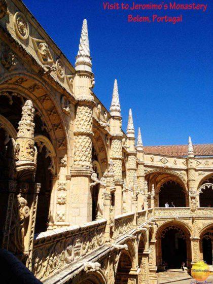 jeronimos monastery belem portugal #jeronimos #monastery #jeronimosmonastery #belem #portugal #lisbon