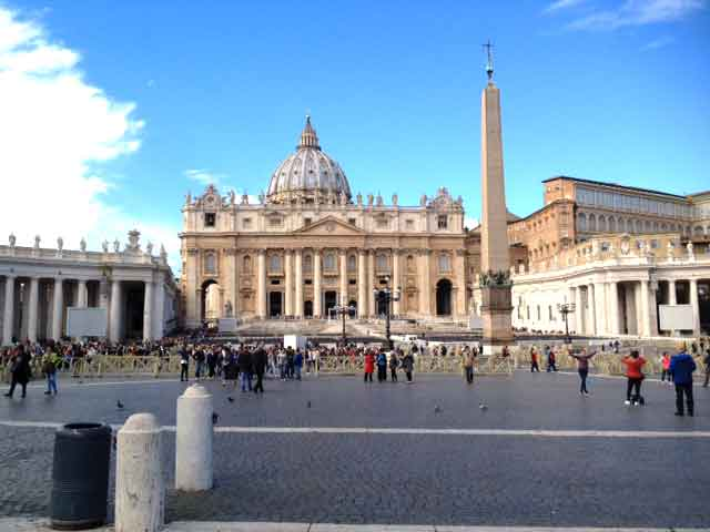 warm greetings from rainy but wonderful rome vatican