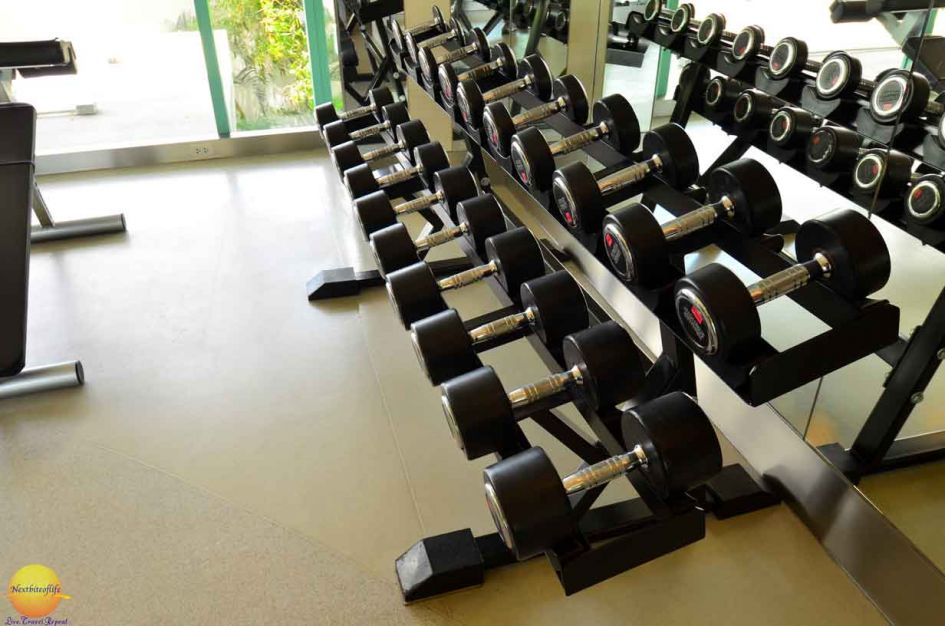 chatrium hotel riverside gym