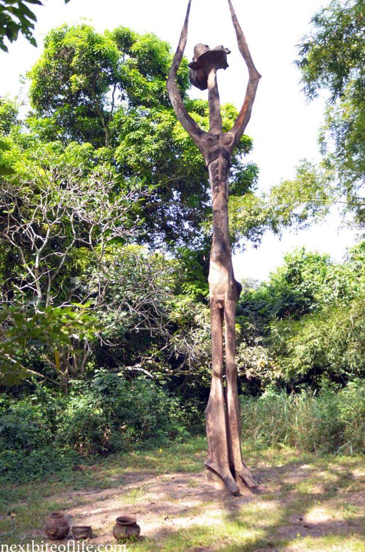 god statue at osun