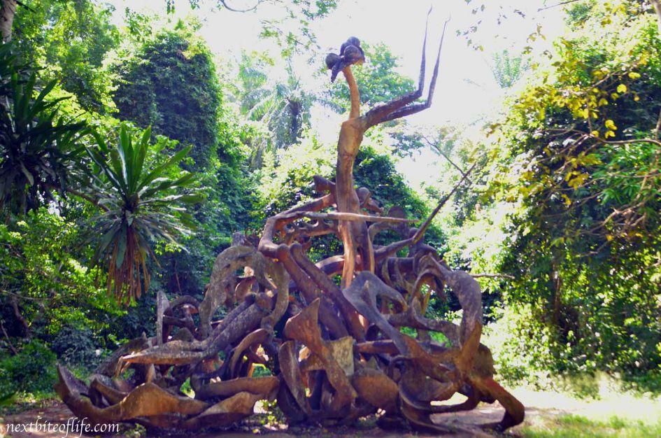 History of Osun Osogbo Sacred Grove god of retribution