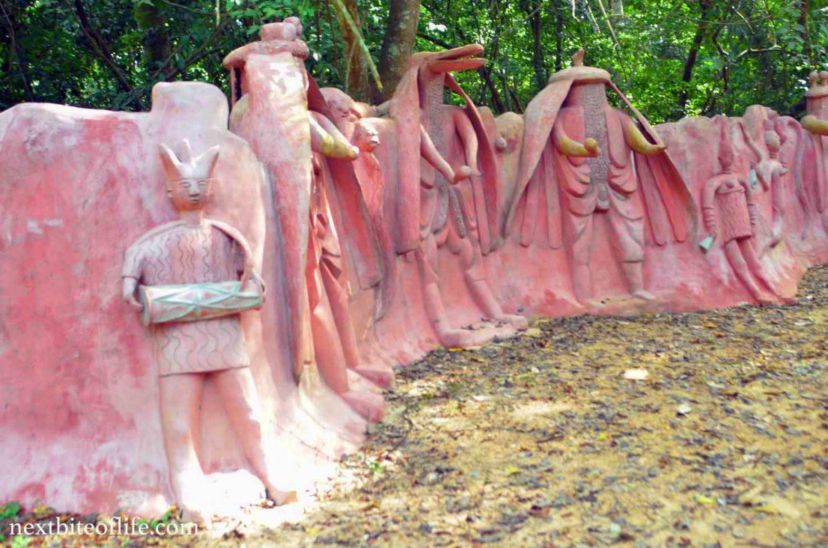 Historic osun osogbo sacred grove is a remarkable beauty