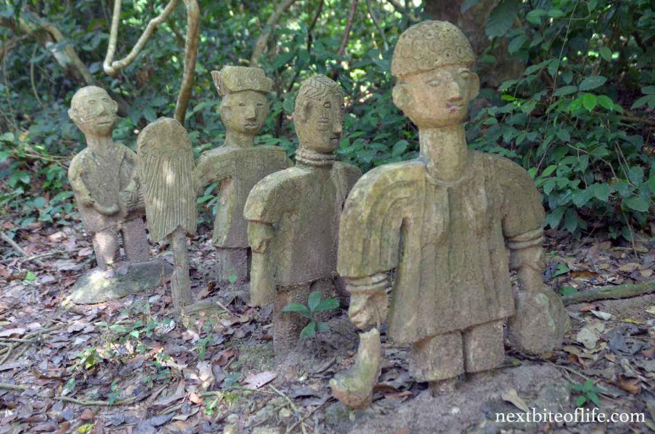 osun oshogbo sacred grove is a remarkable beauty