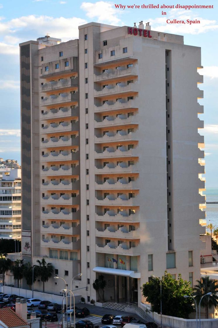 Cullera Spain hotel backview #culleradisappointing #culleraspain #valencia