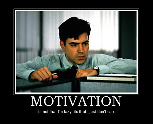 flat hunting in Spain sucks! Motivation gif from a movie Office Space