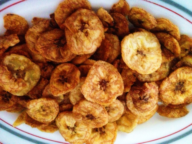yummy nigerian snack..plantain chips