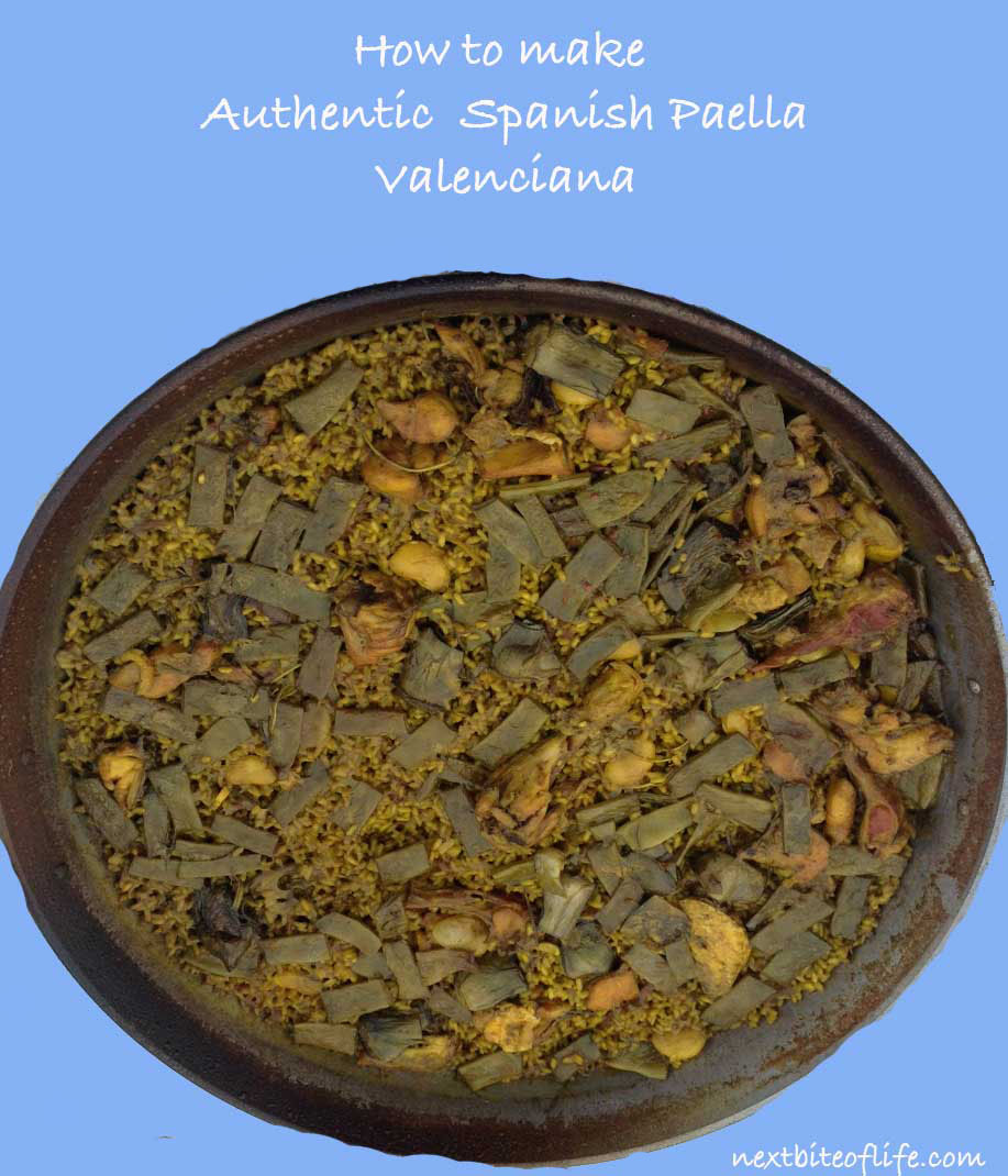 authentic paella recipe pinterest