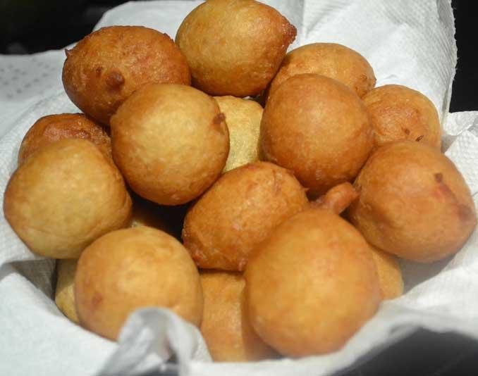 favorite nigerian snacks puff puff