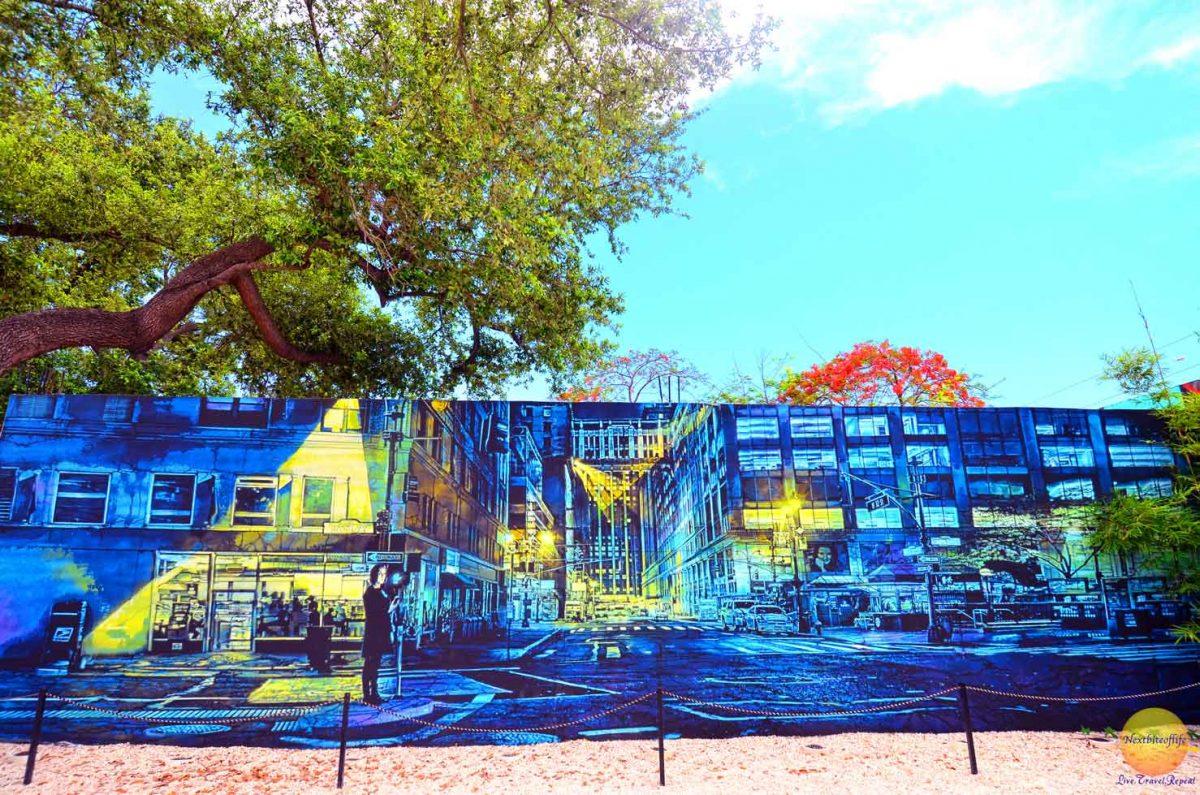 awesome urban graffiti in wynwood district miami