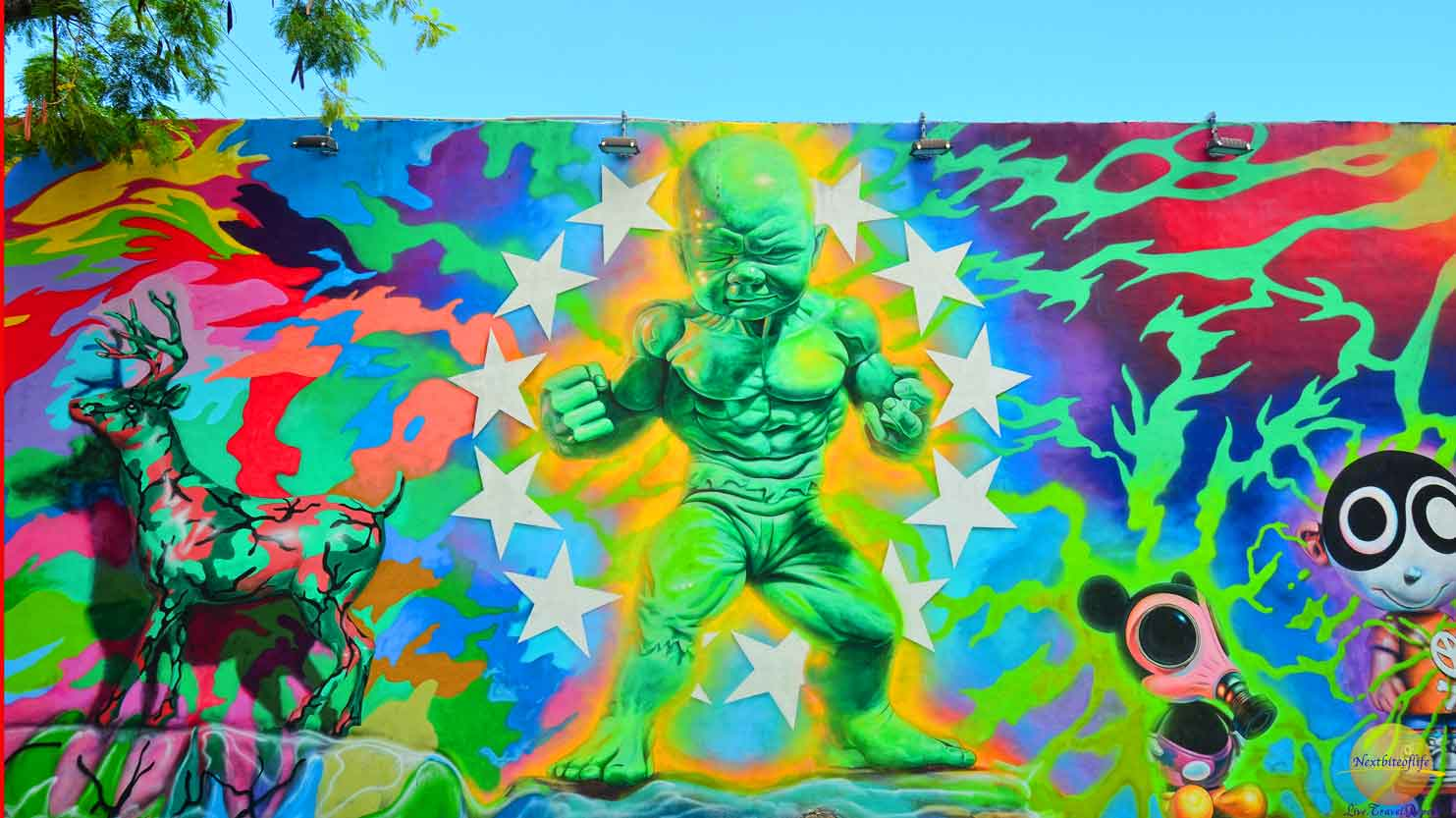 atomic green guy wynwood walls
