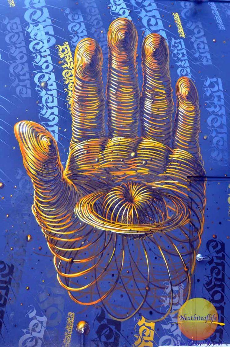 wynwood wall mural zen hand