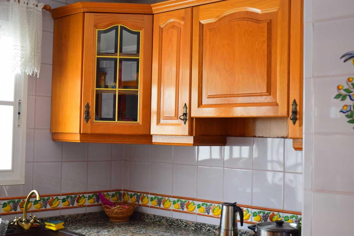 kitchen in flat in valencia