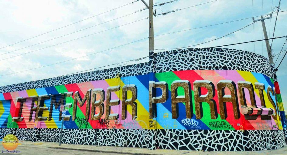 i remember paradise mural wynwood