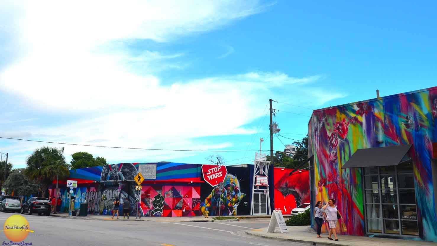 stop wars mural wynwood