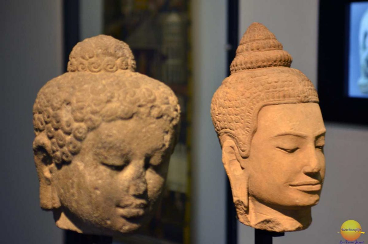 victoria and albert museum bust egyptian heads