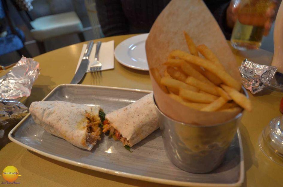 burrito at slug and lettuce London