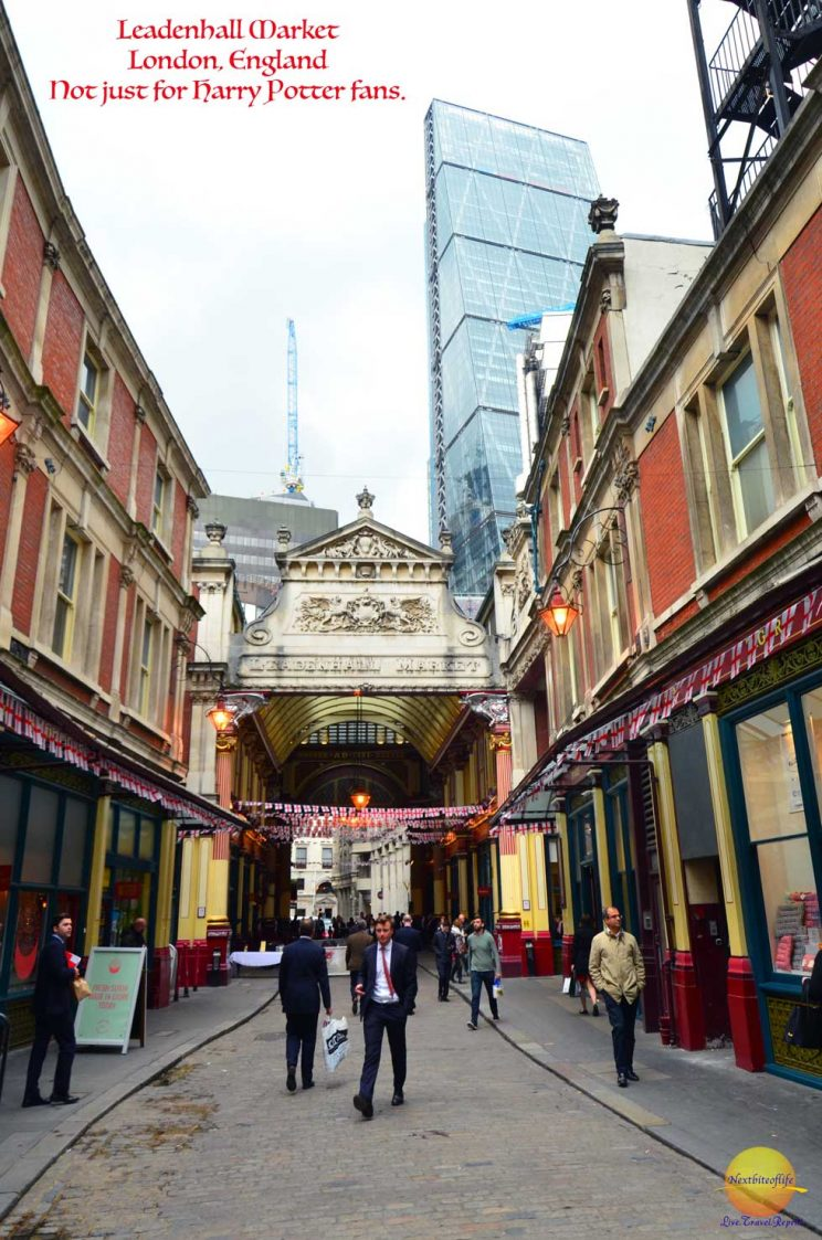 Leadenhall market London #HarrypotterLondon #cauldronalley #markets #london #england