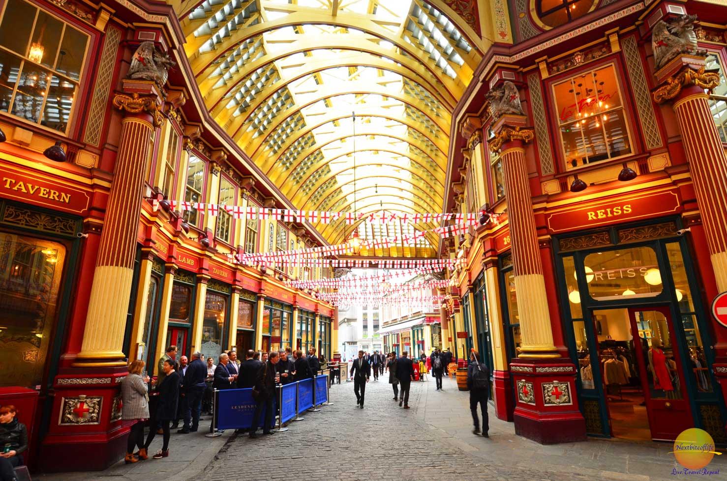 leadenham market london interior