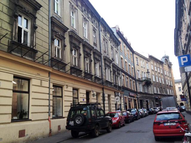 Kazmierz buildings krakow