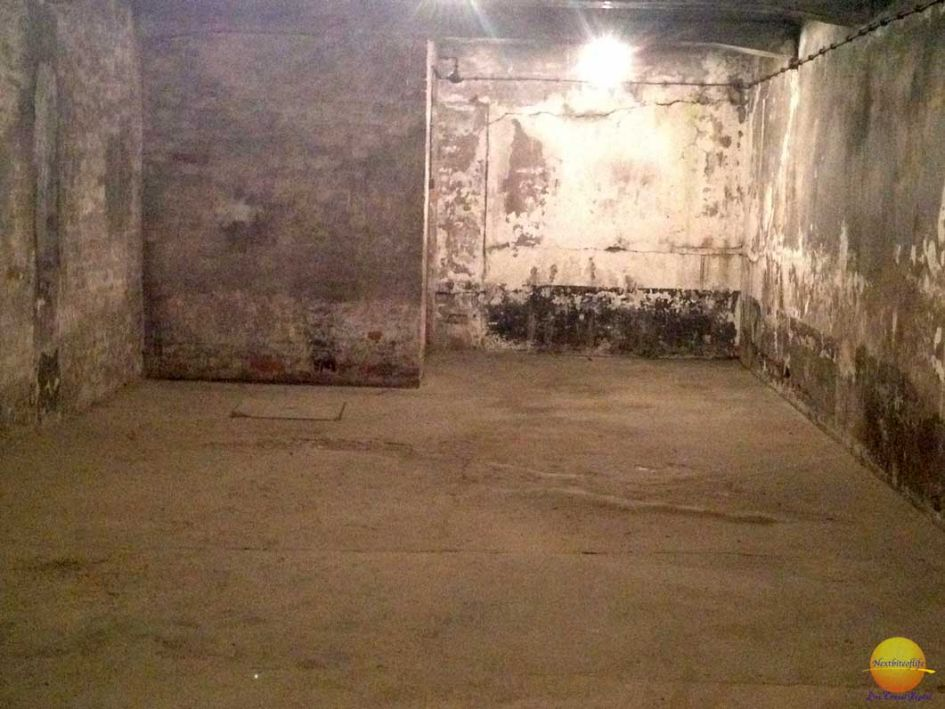 Block 11 basement at Auschwitz concentration camp Krakow