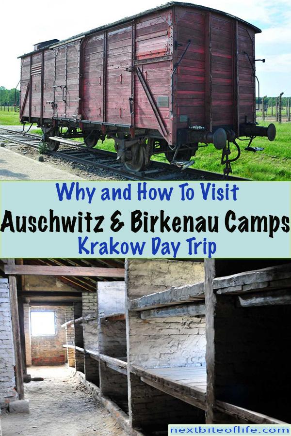 Auschwitz and Birkenau Tour #auschwitz #birkenau #concentrationcamp #WWII #krakow #poland #krakowdaytrip