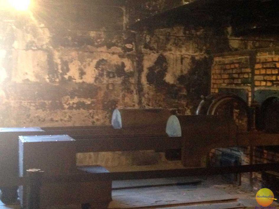 Auschwitz Birkenau crematorium oven furnace