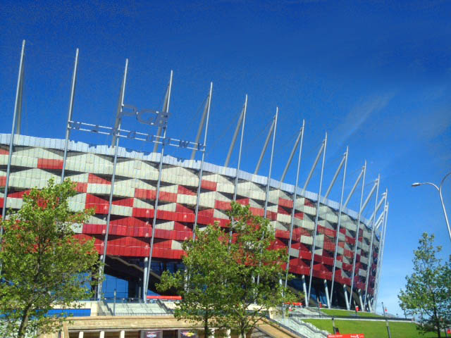 warsaw city stadium