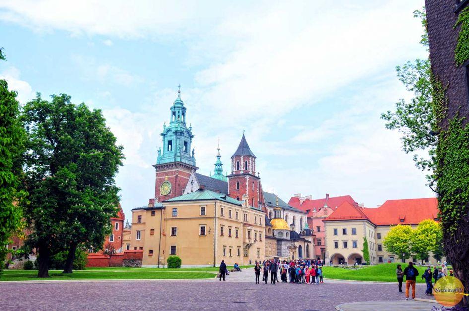 Grounds of Wawel Castle Krakow Guide