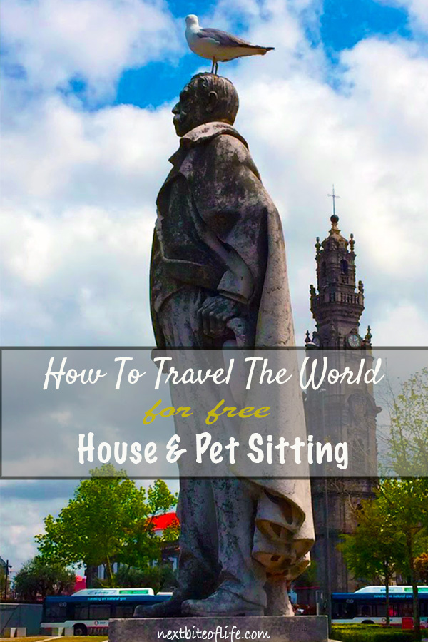 How to travel the world free by house sitting #housesitting #freetravel #housesitters #sitters #petsitters #worldtravelfree