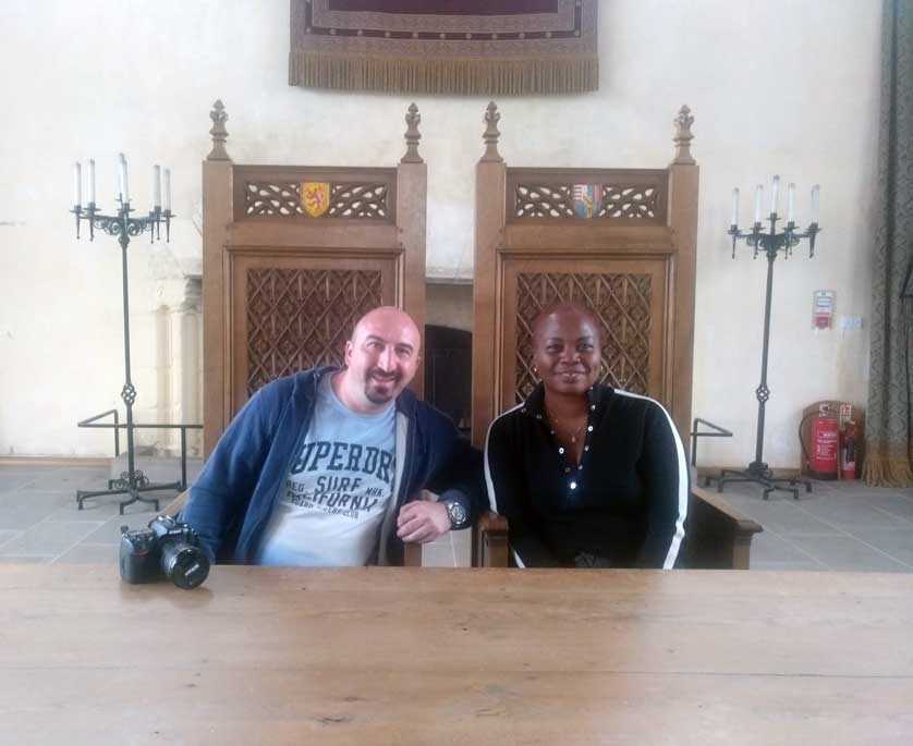 us in stirling castle hall