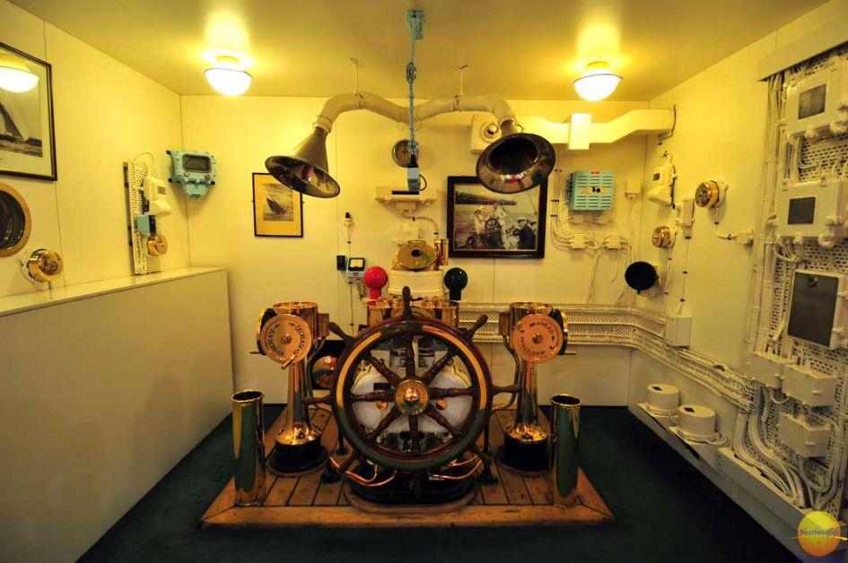 engine room of hmy britannia